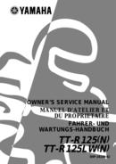 Yamaha TTR125 sivu 1