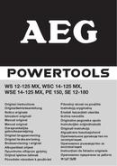 AEG PE 150 page 1