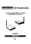 Konig VID-TRANS12KN side 1