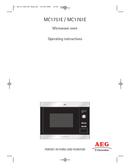 AEG MC1761EA sivu 1