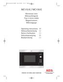 AEG MC1761EM sivu 1