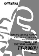 Yamaha TTR90 sivu 1