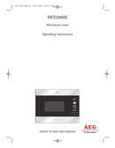 AEG MCD2660EM sivu 1