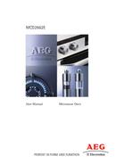 AEG MCD2662EM sivu 1