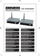 Konig VID-TRANS600 side 1