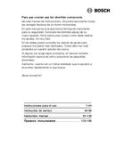 Bosch HMT85G65 pagina 1