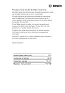 Bosch HMT85M62 pagina 1