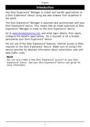 Página 2 do Doro Experience (Android)