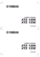 Yamaha XTZ125 sivu 1