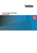 Lenovo ThinkVision T2224z sivu 1
