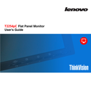 Lenovo ThinkVision T2254p sivu 1