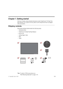 Lenovo ThinkVision T2254p sivu 5