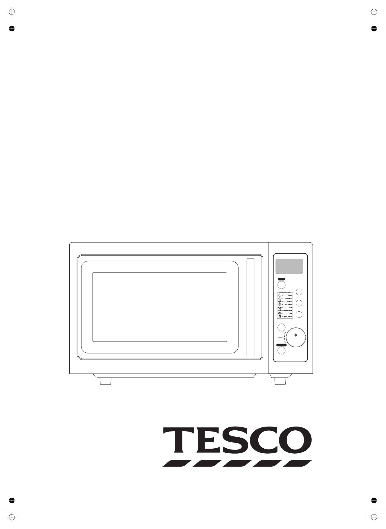Tesco Mc209 Manual