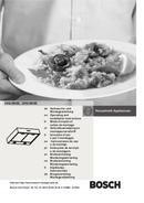 página del Bosch DHU665E 1
