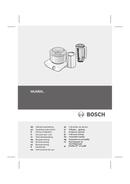 Bosch MUM6N11 page 1