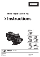 Thule Rapid System 757 page 1