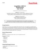 Sandisk Imagemate Reader USB 3.0 side 1