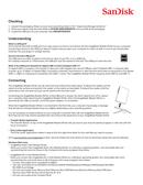 Sandisk Imagemate Reader USB 3.0 side 2