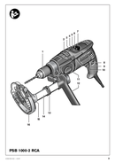 página del Bosch PSB 780-2 RE 3