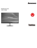 Lenovo ThinkVision X24 sivu 1