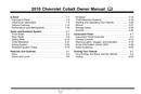 Pagina 1 del Chevrolet Cobalt (2010)