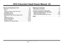 Pagina 2 del Chevrolet Cobalt (2010)