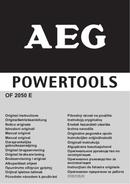 Página 1 do AEG OF 2050 E