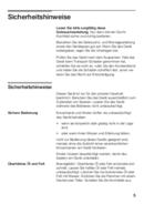 Pagina 5 del Bosch PIN651T14E