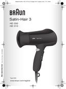 Braun Satin Hair 3 HD 310 pagina 1