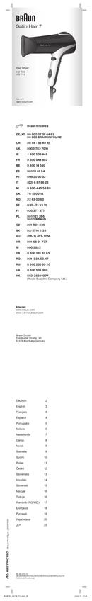 Braun HD 710 Satin Hair 7 pagina 1