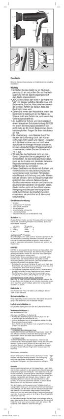 Braun HD 710 Satin Hair 7 pagina 2