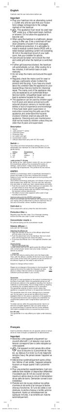 Braun HD 710 Satin Hair 7 pagina 3