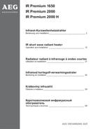 AEG IR Premium 2000 sivu 1