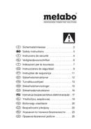 Metabo STEB 140 Plus sayfa 1
