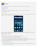 Lenovo Ideaphone P90 sivu 2