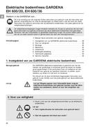 Gardena EH 600/36 page 2