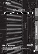 Yamaha EZ-220 sivu 1