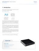 Pagina 5 del LaCie Slim Blu-Ray