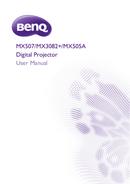 BenQ MX507 sivu 1
