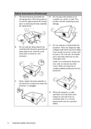 Página 4 do BenQ MX507