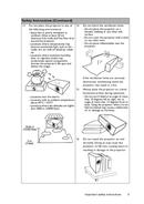 Página 5 do BenQ MX507