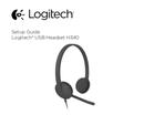 Logitech H340 sivu 1