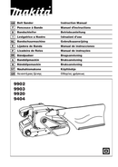 Pagina 1 del Makita 9404