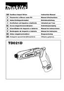 Makita TD021D page 1