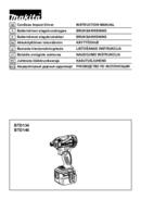 Makita BTD134 page 1