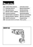 Makita BHR162 page 1
