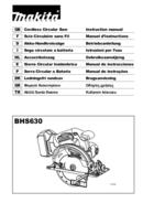 Makita BHS630 page 1