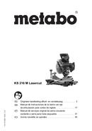 página del Metabo KS 216M Lasercut 1