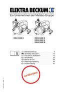 Página 1 do Metabo HWA 3300 K