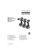 Página 1 do Metabo BS 14.4 LT Quick